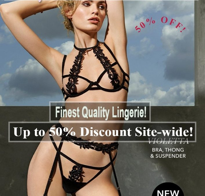 top quality lingerie black sexy by itoptrade and bluebella