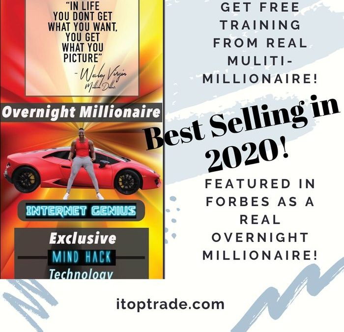 Itoptrade com teams up with Overnight Millionaire - Wesley Billion Dollar Virgin to help you make a successful online work from home business