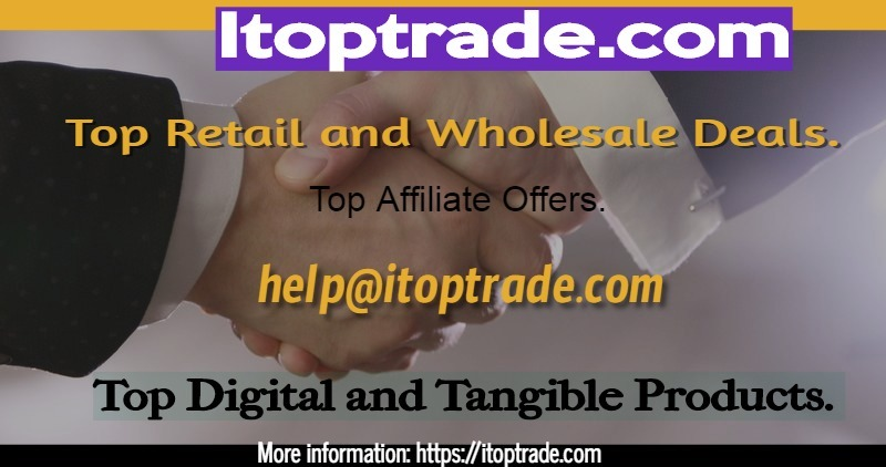 I Top Trade.com - Top retail discounts on hand-picked branded original digital and tangible products.