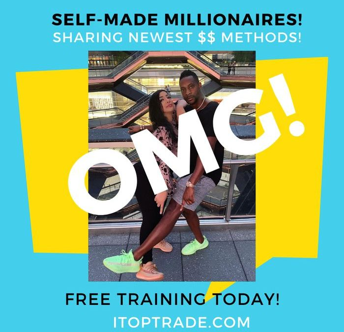 multi internet-millionaires wesley virgin and ariella teams up with you to help you make money online when you join them via itoptrade com