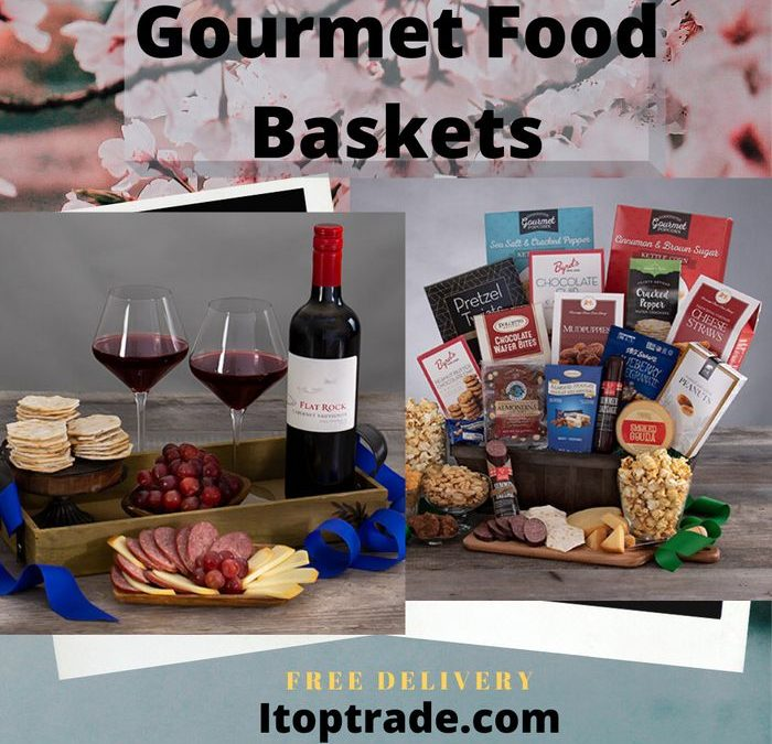 itoptrade com sells exclusive and top quality gourmet food baskets with free delivery