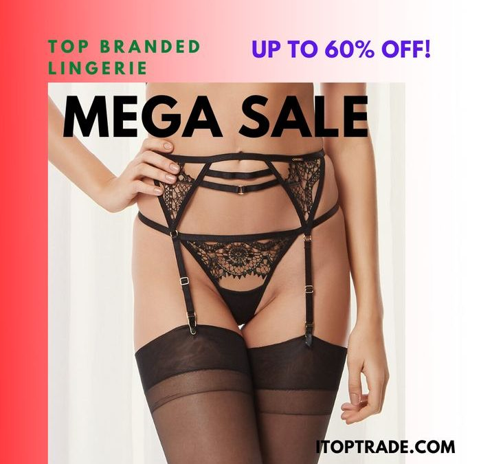 itoptrade com sells top branded luxury lingerie at 60 percent discount